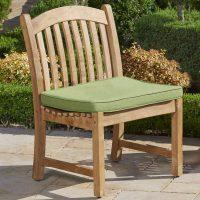 Univeral Teak Armless Chair 1000